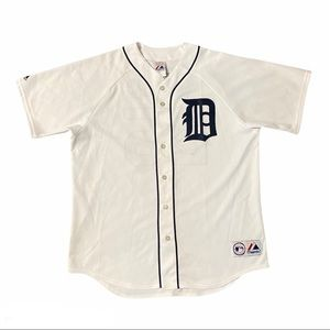 Detroit Tigers #25 Young Majestic Jersey Mens XL